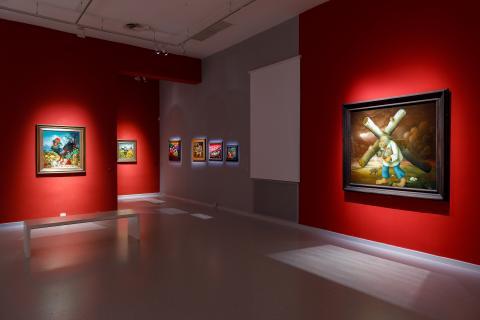 Gezeigt werden ca. 120 Werke von 31 Künstlerinnen und Künstler © NÖ Museum Betriebs GmbH, Foto Ludwig Schedl